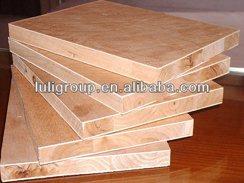 low prices of melamine faced falcata block board manufacturer