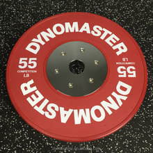 bumper plate crossfit weight lifting plate 35LB competition barbell plate
