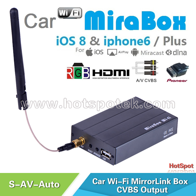 mirabox support firmware upgrading for ios9 and android car wifi carplay mirrorlink for car. Black Bedroom Furniture Sets. Home Design Ideas