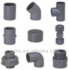plastic fittings PVC pipe Fittings for water supply and drainage