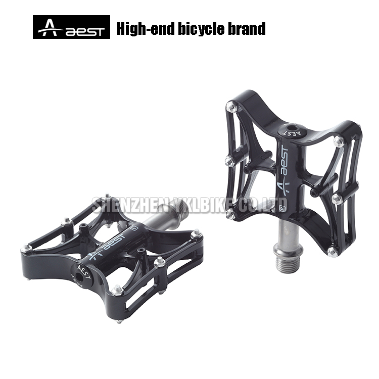 MTB Road Bike Pedal Lightweight Magnesium Alloy Bicycle Pedals 9//16 in