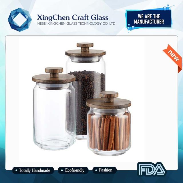new production food storage 5 gallon glass jar wide mouth glass jar