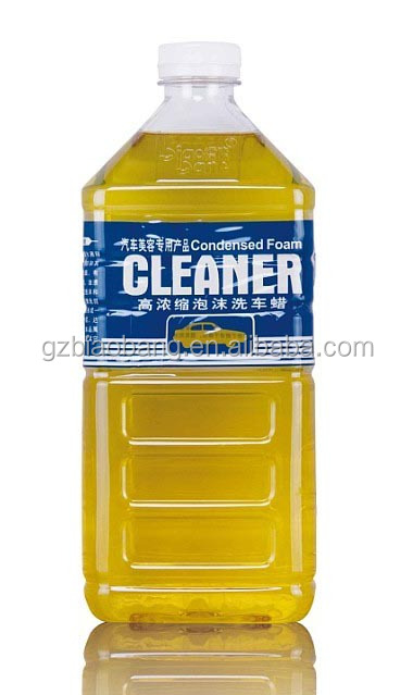 2L condensed foam cleaner car care products