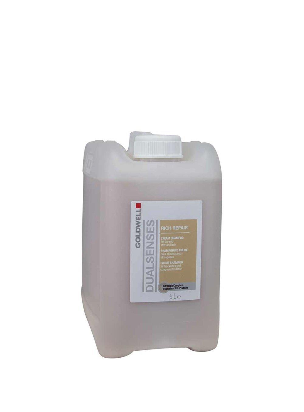 Goldwell Dualsenses Rich Repair Cream Shampoo By Goldwell 5 Liter Shampoo For Unisex