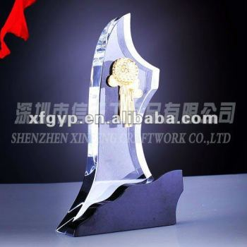 Factory Directly Make Crystal Awards for corporation use