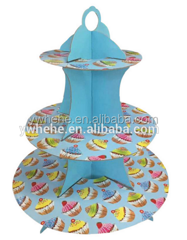 High Quality Disposable Cupcake Stand For Party