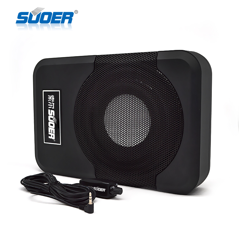 Hot Sale 8 inch car subwoofer super bass  under seat  subwoofer SPL  power subwoofer car audio refit car/trucks