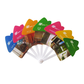 New Arrival promotional wedding supplies round paper fan,white paper hand fans