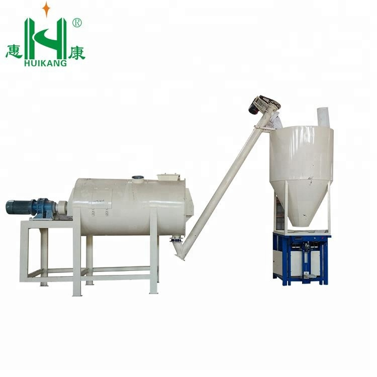 Alibaba White Cement Based Wall Putty Manufacturing Process Production  Line/ 2 Persons Operated Wall Putty Manufacturing Machine - Buy Wall Putty