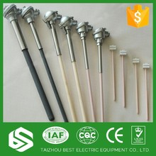 High temperature r k s type thermocouple