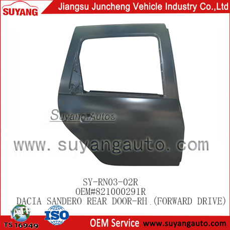 Dacia Sandero Car Rear Door Body Parts Manufacturer 821012768r ...