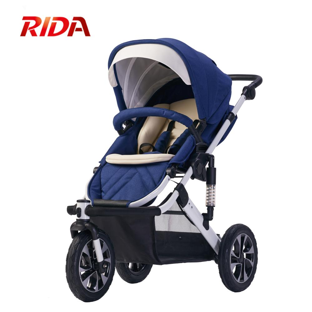 3 Wheels Foldable Sporting Pram High Landscape Baby Stroller push chair