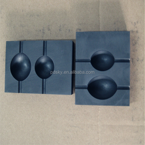 High pure graphite mold for glass casting