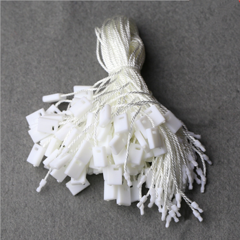 Hot sale normal plastic seal hang tag string