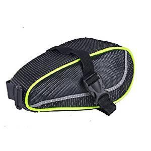 Bike Saddle Bag/Bike Seat Bag/Seat Pack,Freehawk® Cool Strap-On Reflective SeatPak Mountain&Road Saddle Bag/Bicycle Cycling Bike Rear Tail Seat Bag Pouch/Under-seat Storage for Biking,Riding