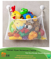 baby bath time toys storage suction bag+ 2 Bonus Strong Hooked Suction Cups