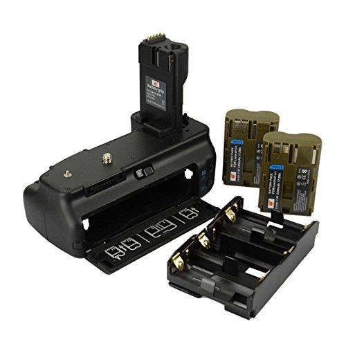 DSTE® Pro BG-E2N Vertical Battery Grip + 2x BP-511 Battery for Canon EOS 40D 20D 30D 50D SLR Digital Camera