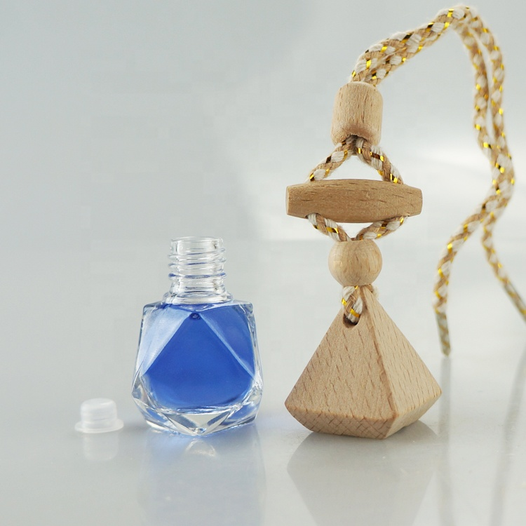 <strong>Empty</strong> hanging car <strong>perfume</strong> <strong>bottle</strong> rope wooden lid car diffuser / <strong>perfume</strong> <strong>bottle</strong> for car use