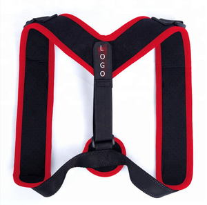 Customized unisex upper back posture corrector brace support adjustable back braces to correct posture