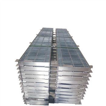 hot dip galvanized steel grating drainage trench cover