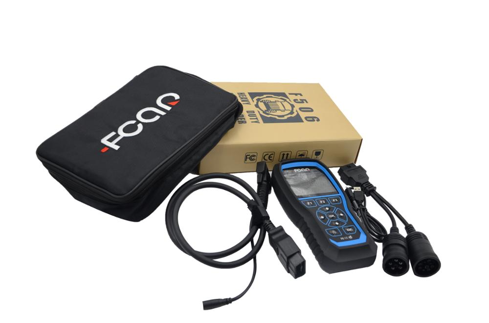F506 heavy duty truck all-in-one code reader