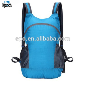 High quality outdoor unisex design foldable backpack, fashion waterproof travel backpack bags