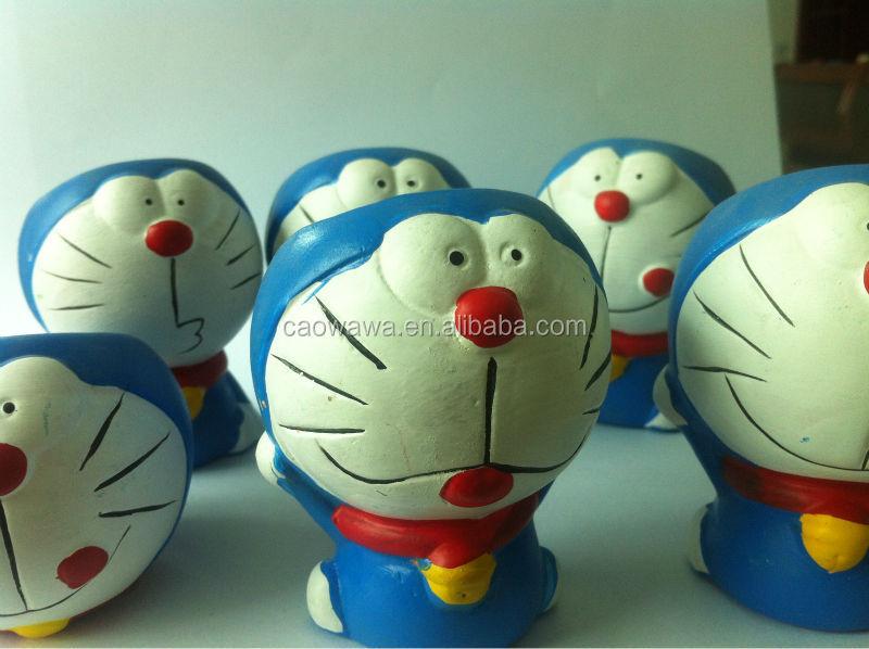 Doraemon Kartun Rumput Kepala Boneka Mini Buy