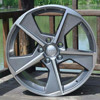 17 inch car aluminum alloy wheels with 5x114.3/5x100 rim