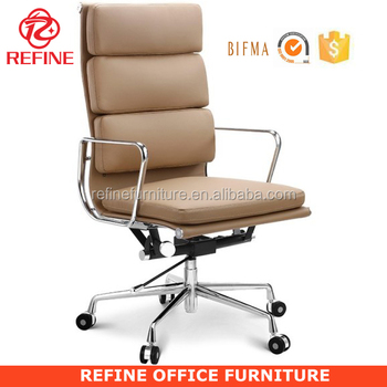 modern office chair leather. tan leather heavy duty wheels bifma ceo modern office chair with soft pad rfs064d