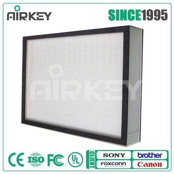 Hepa activated carbon 0.3 micron air filter