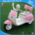 Lovely kitty girls ride on battery Ride On Car with 3 three wheels