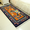 Oriental nationality carpet , Dragon wool carpets and rugs for Living room