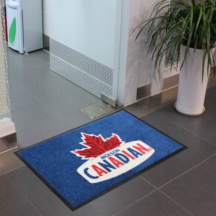 Colorful Printed nylon carpet rugs achieved on digital printer