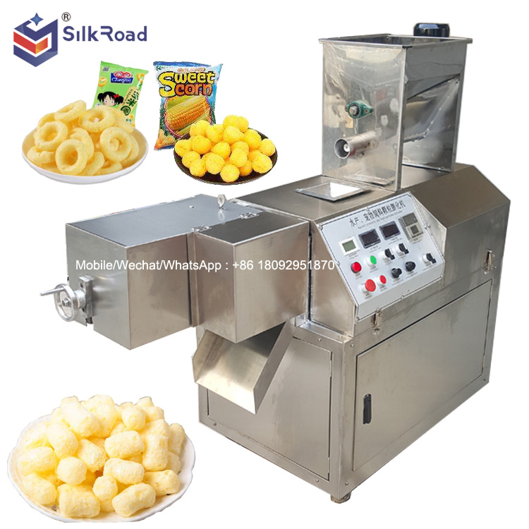 Maize Puff Snacks Machine/Puffed Snacks Food Machine Extruder For Sale