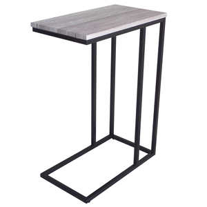Small living room end table sofa couch side table metal frame snack table for coffee