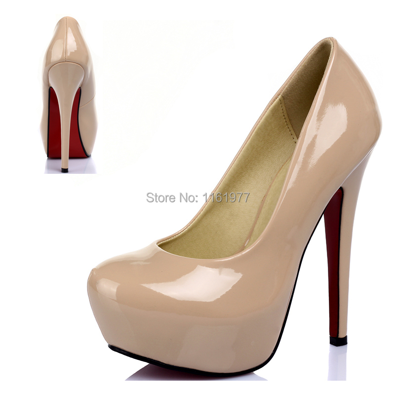 4120b3c30c0b Red Soles.Womens Heels.Prom Shoes.Beige Shoe For Women.Red Bottom
