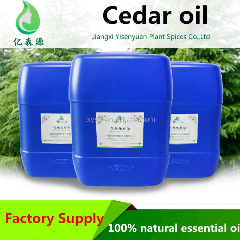 Natural Liquid Cedar Wood Oil Cedar Wood Essential Oil Steam Extraction