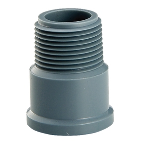 ERA China Supplier PVC Hydraulic Pipe Fittings plastic male adaptor/coupling