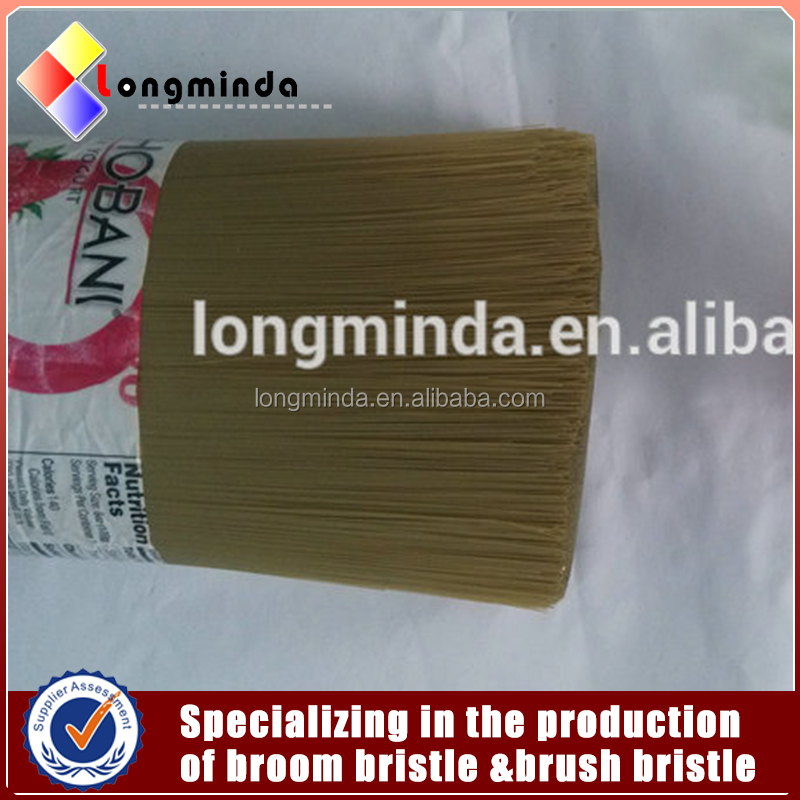 Low Water Absorption PET Flaggable Filaments For Making Brooms