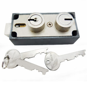 Double Little Nose Sargent and Greenleaf Safe Deposit Locks 093022