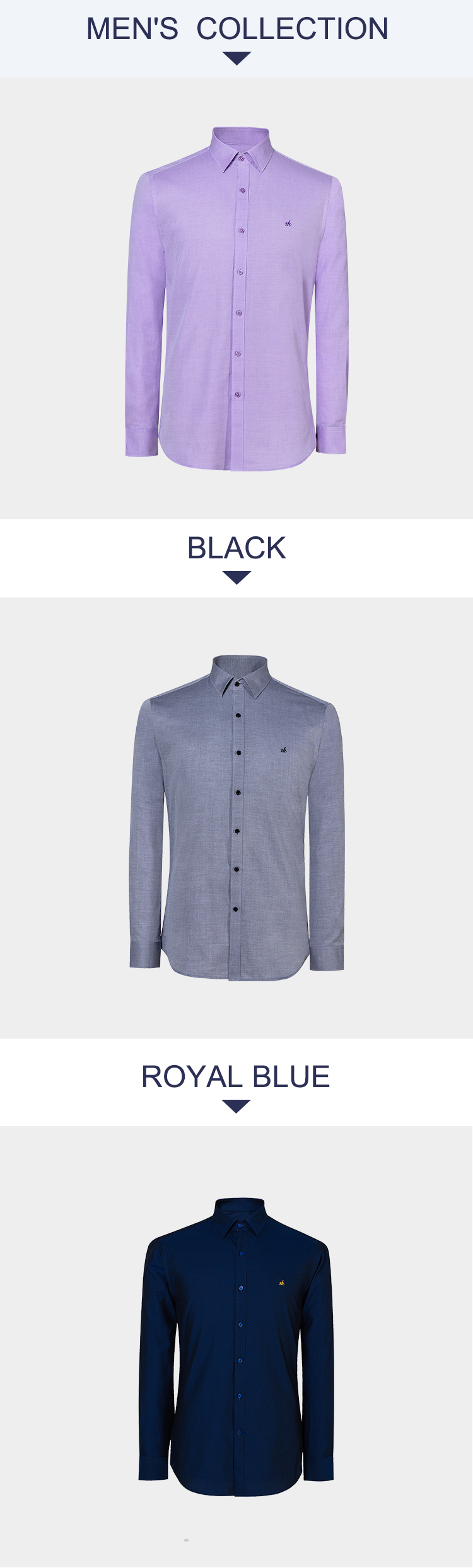 Compra Camisa blanca hombre algodón manga larga