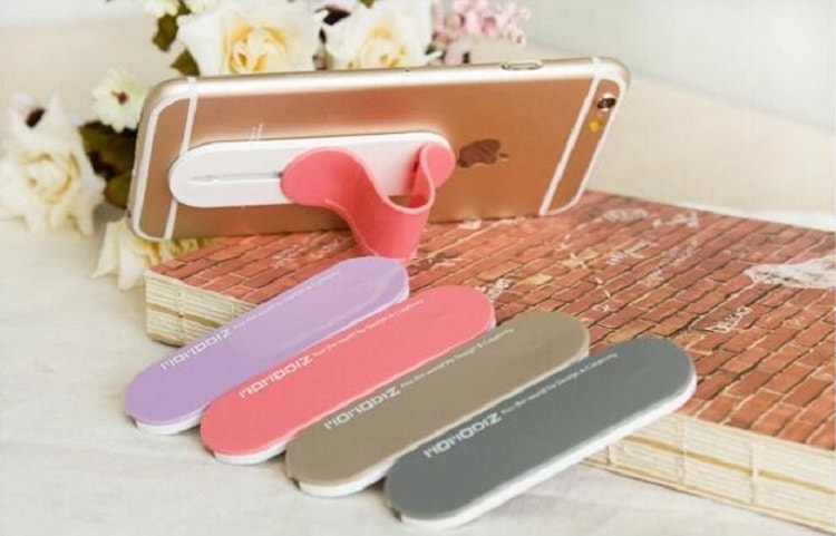 2019 customized printing finger grip phone holder for mobile phone