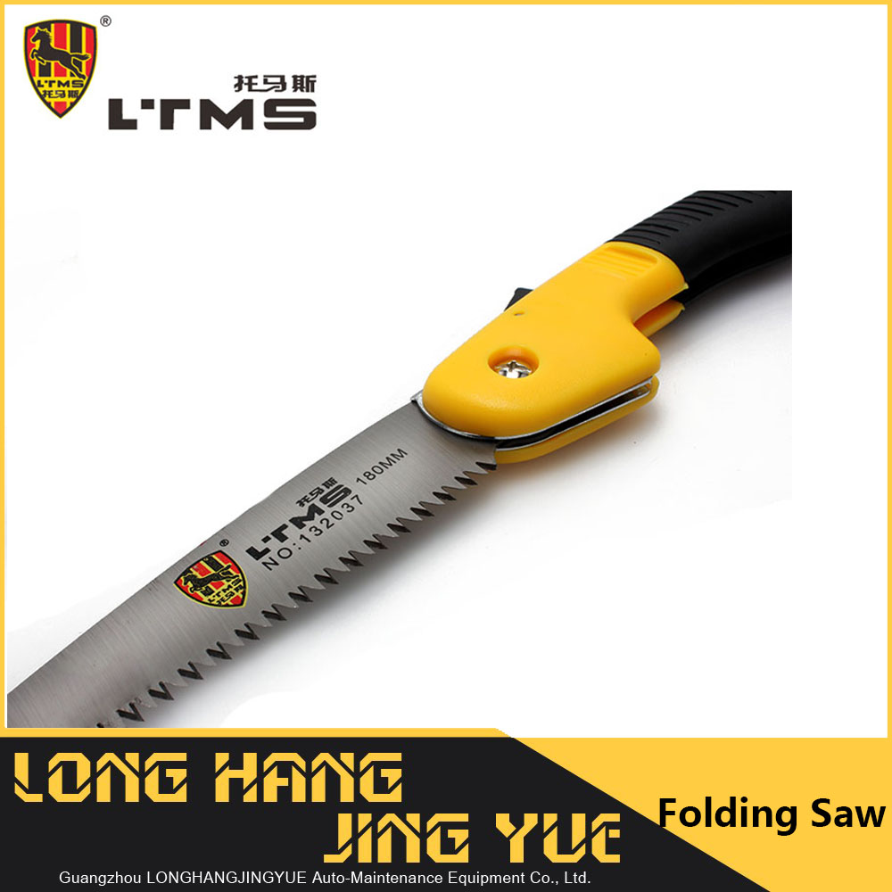 "8"" Stainless Steel Blade Shearing Lightweight Plastic Handle Folding Pruning Hand <strong>Saw</strong> Survival Hand Tools Garden Hand Tools"