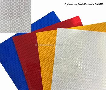 Daoming Engineering Grade Prismatic (EGP) DM5600 Series Permanent Traffic  Sign reflective sheeting, View reflective sheeting, DM Product Details from