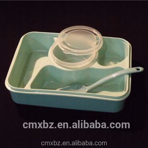 Microwave safe reusable food grade wholesale plastic bento box