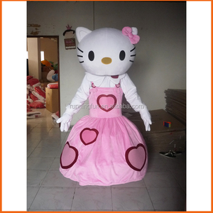 Cheap kitty cat mascot costume,used mascot costumes for sale