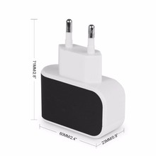 2A Uni Eropa Dinding <span class=keywords><strong>Charger</strong></span> 3A Portable Mobile Phone <span class=keywords><strong>Charger</strong></span> Perjalanan Dual <span class=keywords><strong>USB</strong></span> <span class=keywords><strong>Charger</strong></span> untuk Samsung untuk iPhone