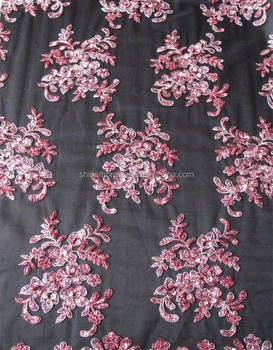 Latest Fashion Embroidery Tulle Fabric With Handwork Embroidery