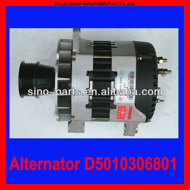 2240KW 28V 80A Alternator for sale D5010306801 Used On Renault Engine