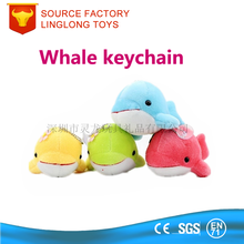 Girl Gift soft toy Whale 3d Green Car Charm Type Key Finder
